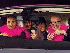 Gary Barlow, Chris Evans, James May and Brian Cox on their FAB1 Million charity drive