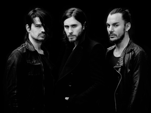 30 Seconds To Mars press shot 2013
