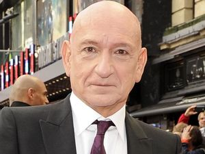 Sir Ben Kingsley arriving at the 'Iron Man 3' UK premiere in London
