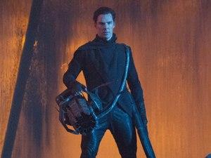 Benedict Cumberbatch as John Harrison in 'Star Trek Into Darkness'.