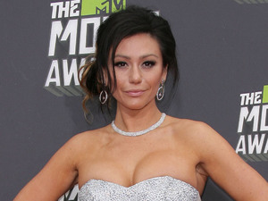 MTV Movie Awards 2013 red carpet: Jenni 'JWoww' Farley