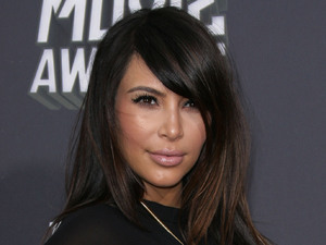 MTV Movie Awards 2013 red carpet: Kim Kardashian