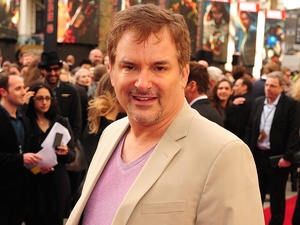 Shane Black arriving for the premiere of Iron Man 3 at the Odeon Leicester Square, London.