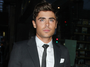 Zac Efron arrives for the premiere of  'At Any Price'.