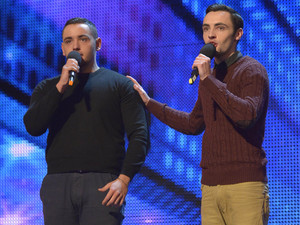 Britain's Got Talent episode two: Richard and Adam