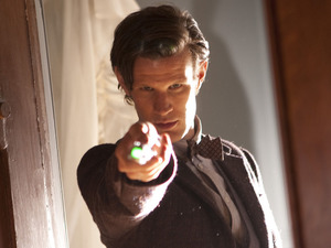 The Doctor (Matt Smith) in Doctor Who S07E04: 'Hide'