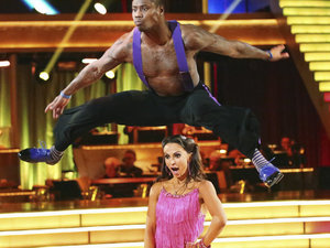 Dancing with the Stars - week 5: Jacoby Jones & Karina Smirnoff