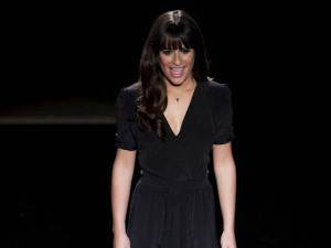 Rachel (Lea Michele) auditions for Broadway in Glee S04E19: 'Sweet Dreams'
