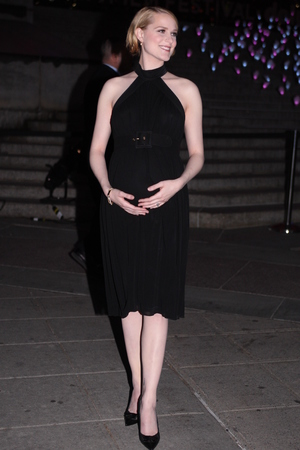 Evan Rachel Wood, 2013 Tribeca Film Festival, Vanity Fair party, pregnant