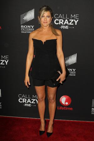 Jennifer Aniston, Call Me Crazy: A Five Film, premiere, playsuit, fashion