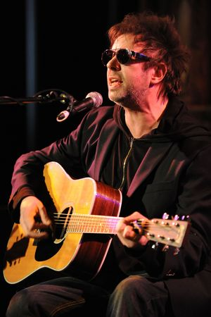Ian McCulloch at the 'All Our Favourite Things' concert in aid of Noah's Ark Children's Hospice in November 2012
