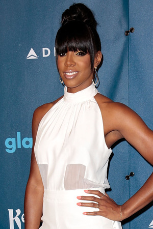 Kelly Rowland attends the Annual GLAAD Media Awards.