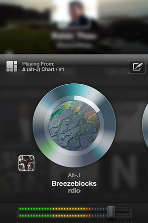 Twitter #music application: Player