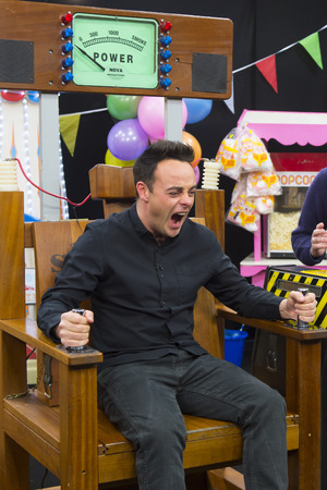 Ant takes on the 'electric chair' on Britain's Got More Talent