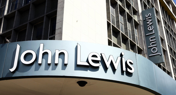 John Lewis store in London's Oxford Stree