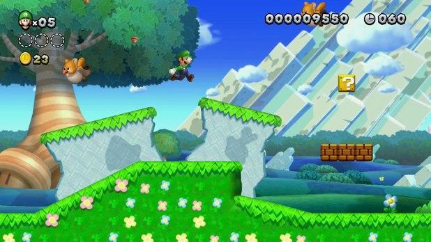 Super Luigi Bros U