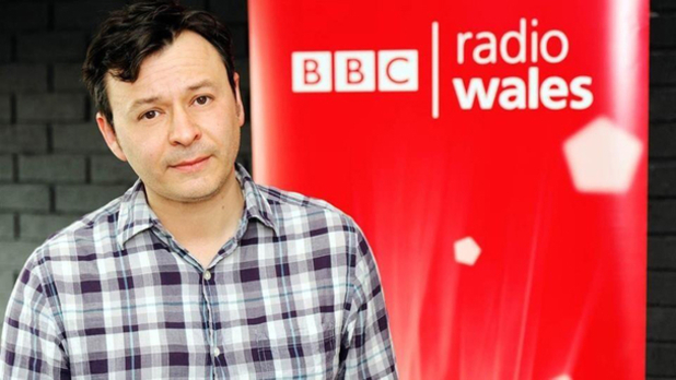James Dean Bradfield of the Manic Street Preachers at BBC Radio Wales