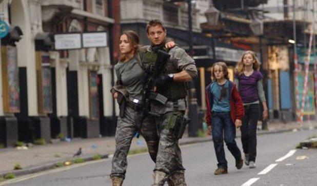 Rose Byrne, Jeremy Renner in '28 Weeks Later'