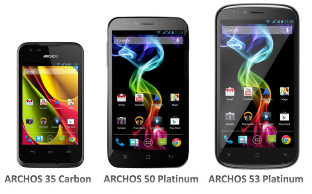 Archos Android smartphone range