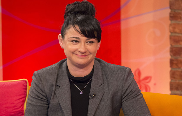 'Emmerdale' star Natalie J Robb appears on 'Lorraine Live'