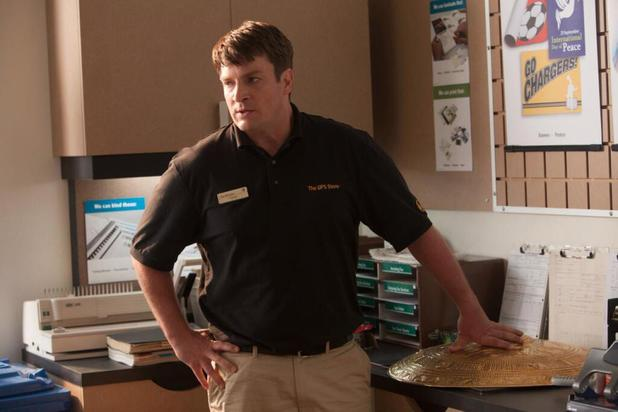 Nathan Fillion as Hermes in 'Percy Jackson: Sea of Monsters'