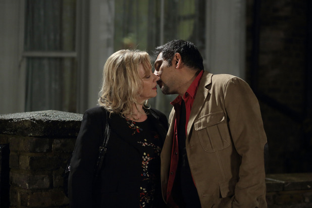 Masood and Carol enjoy each other's company