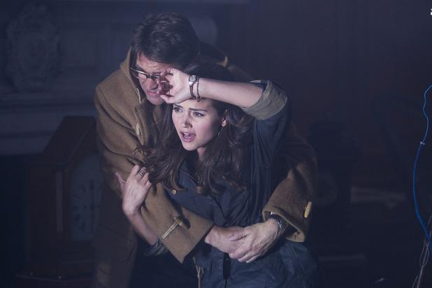 Clara (Jenna-Louise Coleman) & Alec Palmer (Dougray Scott)