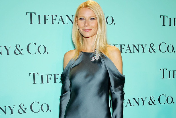 Gwyneth Paltrow, Tiffany and Co. Blue Book Ball, New York, silk gown