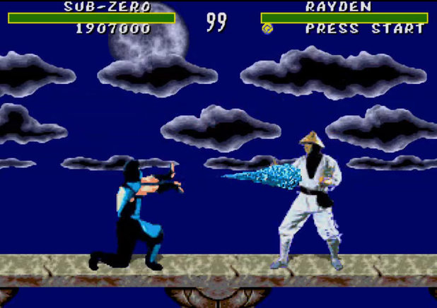 Mortal Kombat arcade gameplay