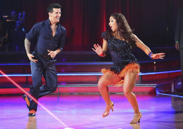 Dancing with the Stars - week 5: Aly Raisman & Mark Ballas