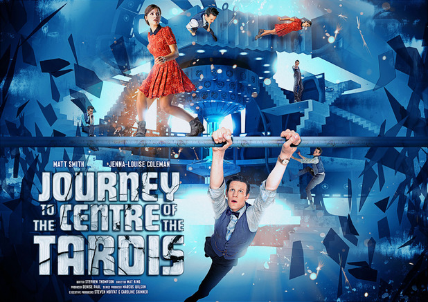 Poster for Doctor Who's 'Journey To The centre of The Tardis'