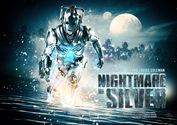 Poster for Doctor Who's 'Nightmare in Silver'