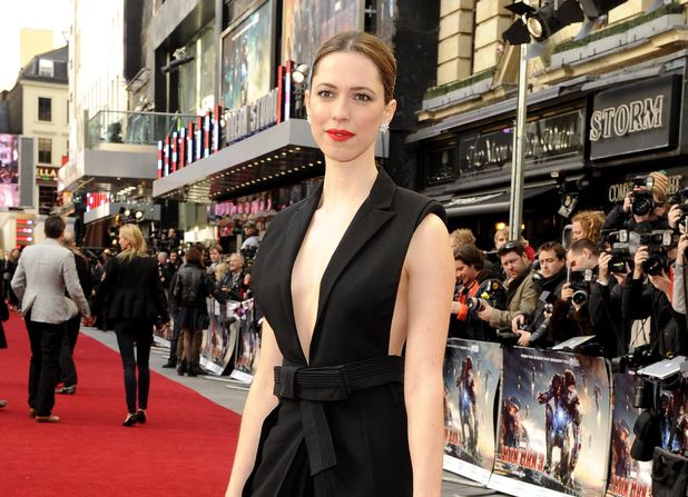 Rebecca Hall arriving at the 'Iron Man 3' UK premiere in London