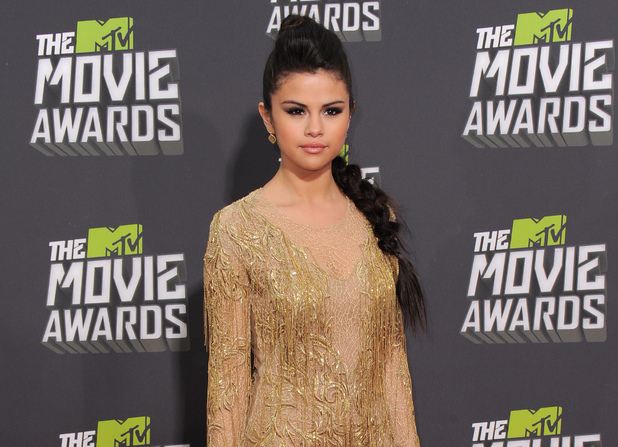 MTV Movie Awards 2013 red carpet: Selena Gomez