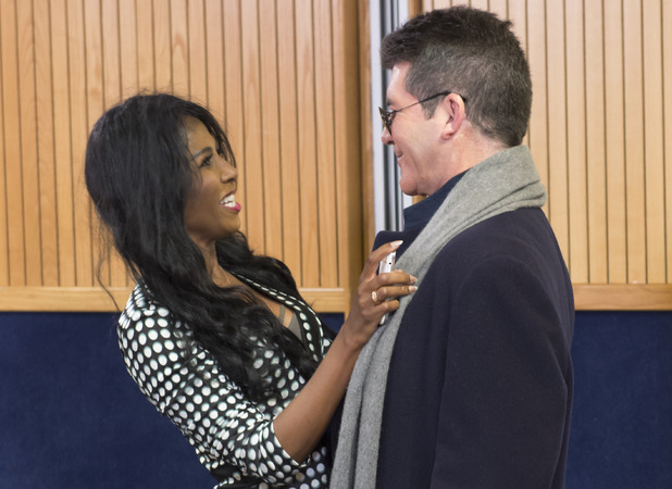 Sinitta and Simon on Britain's Got Talent episode 2