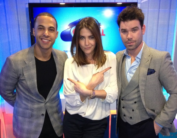 Dave Berry, Lisa Snowdon, Marvin Humes