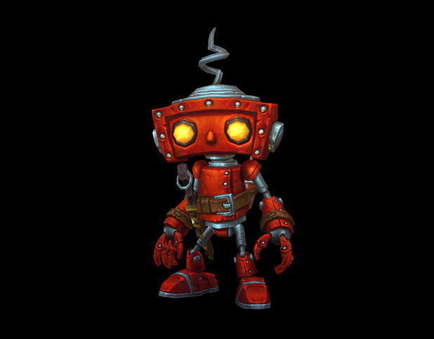 World of Warcraft 'Bad Robot' pet