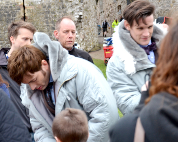 Doctor Who: 50th Anniversary: On set pictures