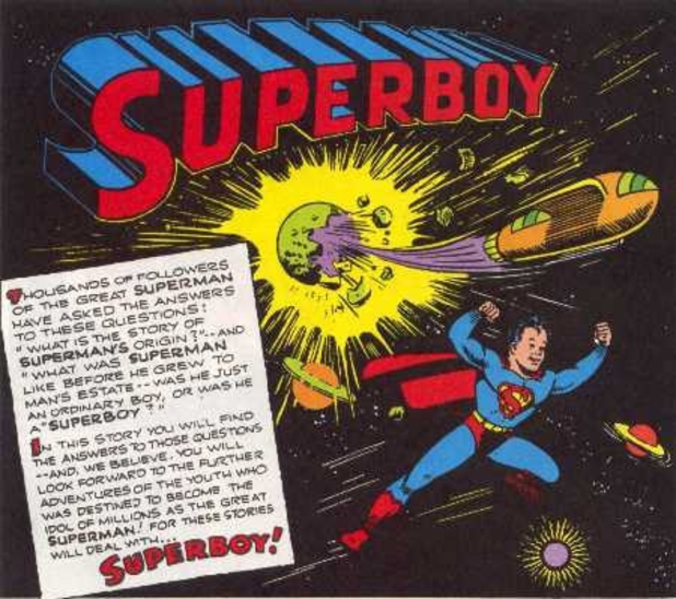 Artwork from 'Superboy'
