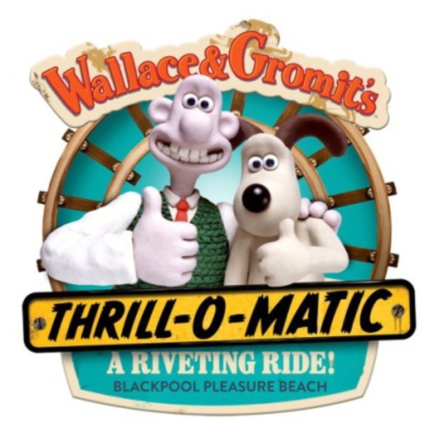 Wallace & Gromit Thrill-O-Matic ride at Blackpool