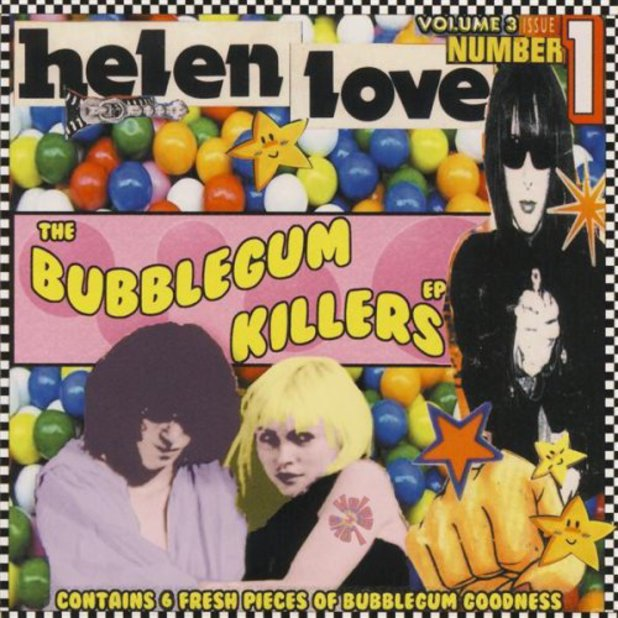 Helen Love's 'Bubblegum Killers' EP artwork