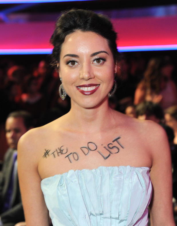 MTV Movie Awards 2013: Aubrey Plaza