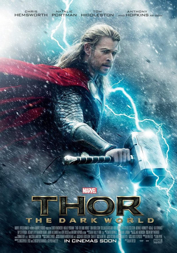 'Thor: The Dark World' poster