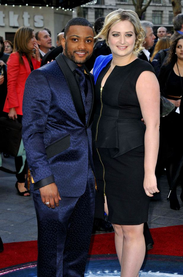Jonathan JB Gill of JLS and Chloe Tangney