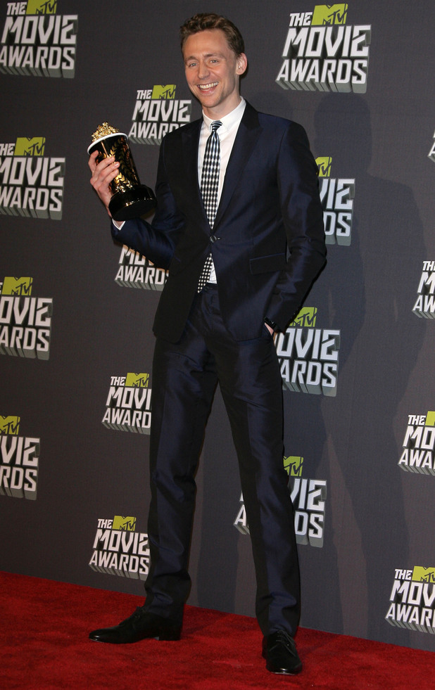 MTV Movie Awards 2013 press room: Tom Hiddleston
