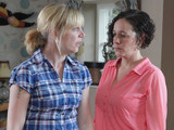 6535: Ruby is tidying for the landlord inspection but Ali is refusing to run round after Megan