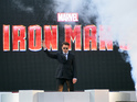 Red carpet pictures of Robert Downey Jr, Rebecca Hall and the cast of Iron Man 3.