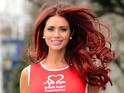 "TOWIE star wants to cross the finish line ""looking glamorous"" - if she doesn't get lost."