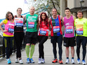 Famous runners including Amy Childs and Holby's Amanda Mealing will mark the tragedy.