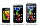 The 5.0-inch Archos 50 Platinum handset leads the French manufacturer's range.